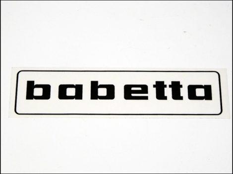 MATRICA BENZINTANKRA BABETTA /FEKETE/ (Babetta alkatrész)