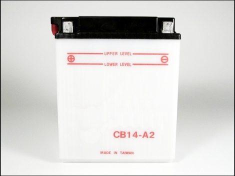 AKKU. 12V 14AH SZÁRAZ/B+/ 135x90x165 (Motor-robogó alkatrész)