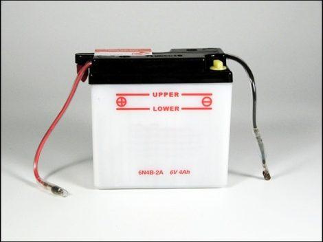 AKKU.  6V  4AH SZÁRAZ 98x45x94 (Motor-robogó alkatrész)