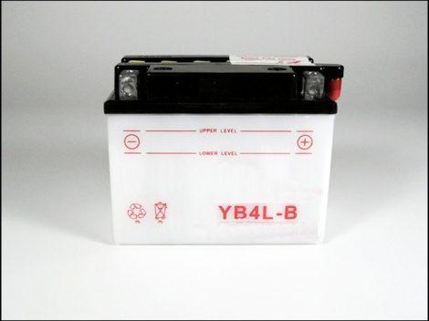 AKKU. 12V  4AH SZÁRAZ 116x69x94 (Motor-robogó alkatrész)