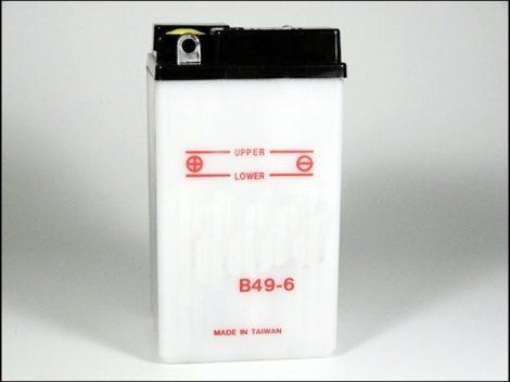 AKKU.  6V  8AH SZÁRAZ 90x84x160 (Motor-robogó alkatrész)