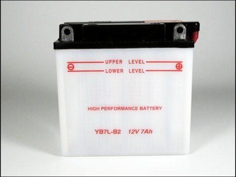 AKKU. 12V  7AH SZÁRAZ 134x75x132 (Motor-robogó alkatrész)