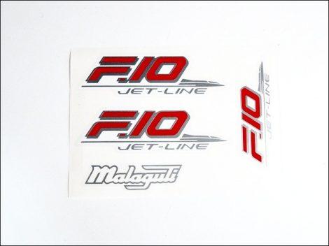 MATRICA KLT. F10 /PIROS-EZÜST/ (Motor-robogó alkatrész)