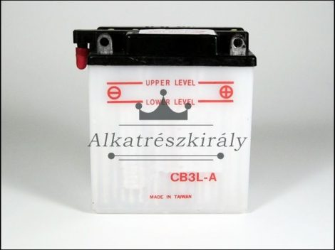 AKKU. 12V  3AH SZÁRAZ 99x57x110 (Motor-robogó alkatrész)