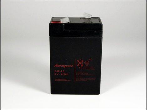 AKKU.  6V  4AH ZSELÉS 70x48x102 (Motor-robogó alkatrész)