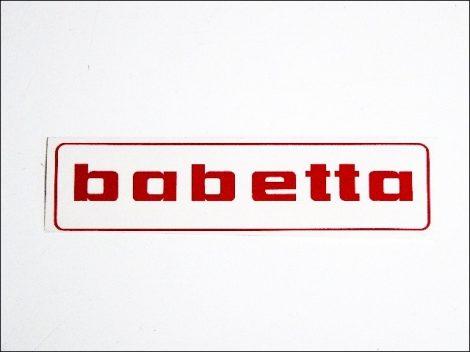 MATRICA BENZINTANKRA BABETTA /PIROS/ (Babetta alkatrész)