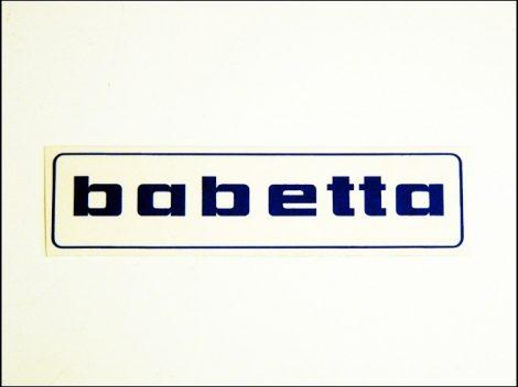 MATRICA BENZINTANKRA BABETTA /KÉK/ (Babetta alkatrész)