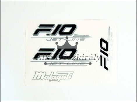 MATRICA KLT. F10 /FEKETE-EZÜST/ (Motor-robogó alkatrész)