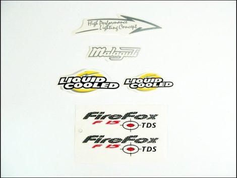 MATRICA KLT. F15 FIRE FOX /SÁRGA/ (Motor-robogó alkatrész)