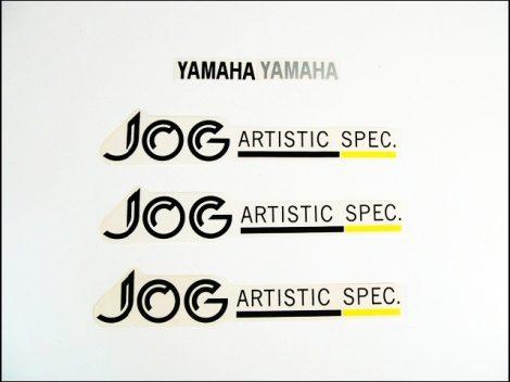 MATRICA KLT. JOG ARTISTIC /FEKETE-SÁRGA/ (Motor-robogó alkatrész)
