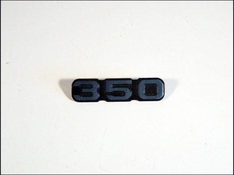 """FELIRAT SZERSZÁMDOBOZRA """"350"""" (Motor-robogó alkatrész)"""