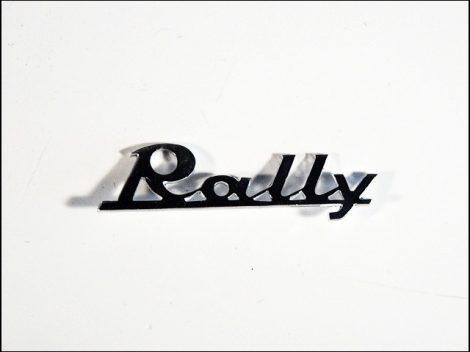 EMBLÉMA RALLY (Motor-robogó alkatrész)