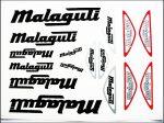 MATRICA KLT. MALAGUTI FEKETE-EZÜST (Motor-robogó alkatrész)