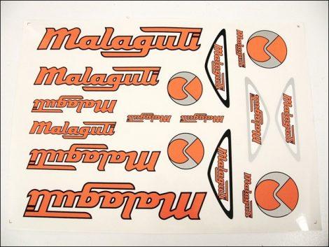 MATRICA KLT. MALAGUTI NARANCS-EZÜST (Motor-robogó alkatrész)