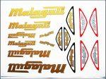 MATRICA KLT. MALAGUTI ARANY-EZÜST (Motor-robogó alkatrész)