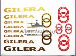 MATRICA KLT. GILERA ARANY-PIROS (Motor-robogó alkatrész)