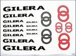 MATRICA KLT. GILERA FEKETE-PIROS (Motor-robogó alkatrész)