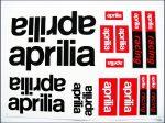 MATRICA KLT. APRILIA FEKETE-PIROS (Motor-robogó alkatrész)
