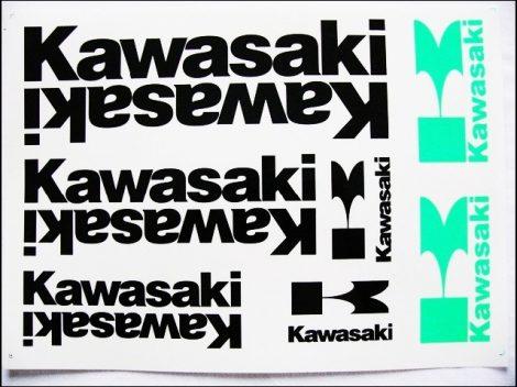 MATRICA KLT. KAWASAKI FEKETE (Motor-robogó alkatrész)