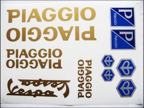 MATRICA KLT. PIAGGIO ARANY (Motor-robogó alkatrész)