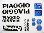 MATRICA KLT. PIAGGIO FEKETE (Motor-robogó alkatrész)