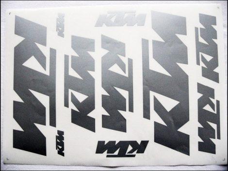 MATRICA KLT. KTM EZÜST (Motor-robogó alkatrész)