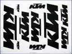 MATRICA KLT. KTM FEKETE (Motor-robogó alkatrész)