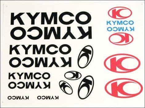 MATRICA KLT. KYMCO FEKETE (Motor-robogó alkatrész)