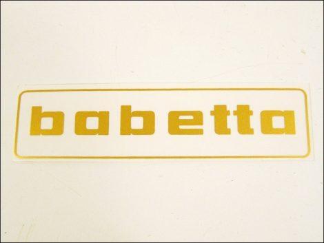 MATRICA BENZINTANKRA BABETTA /ARANY/ (Babetta alkatrész)