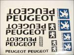 MATRICA KLT. PEUGEOT NAGY /FEKETE/ (Motor-robogó alkatrész)
