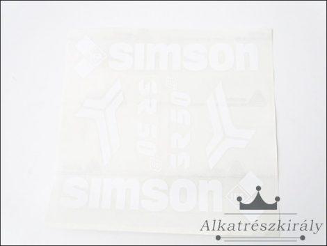 [SIMSON / ROLLER] - MATRICA KLT. /FEHÉR/