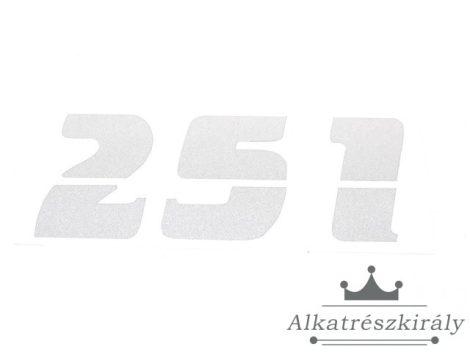 [MZ / ETZ] - MATRICA SZERSZÁMDOBOZRA '251'