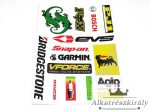 MATRICA KLT. AGIP, BRIDGESTONE,FOX